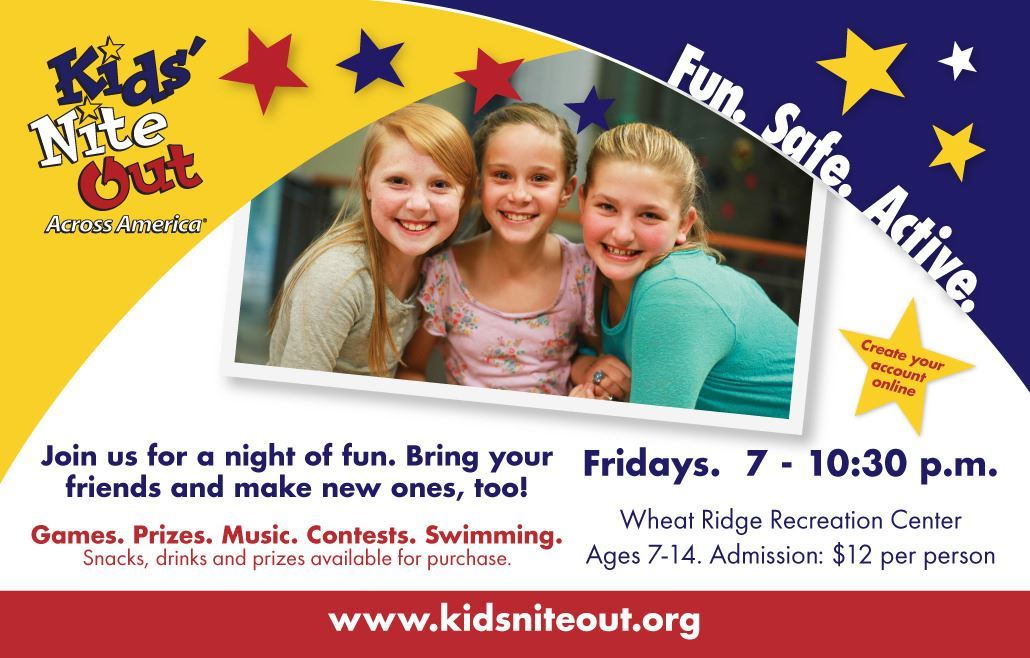 Kids Nite Out Across America Flyer