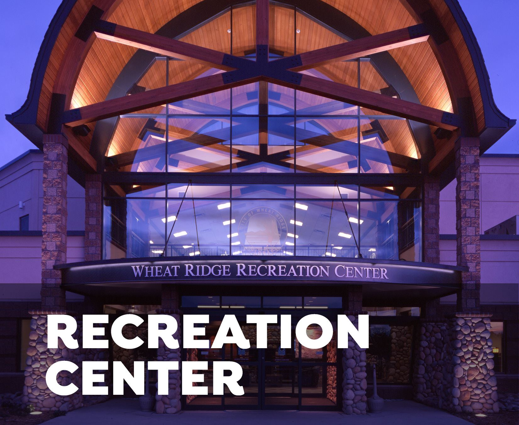 Recreation Center front entrance