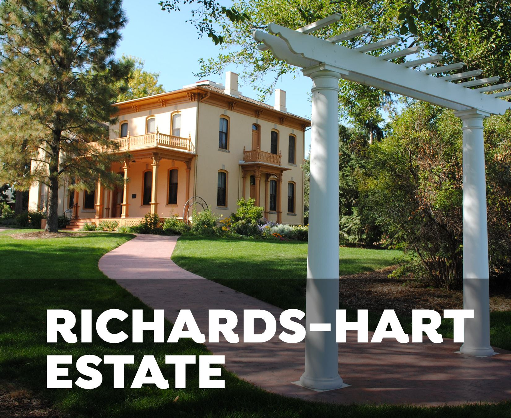 Richards-Hart Estate wedding arbor