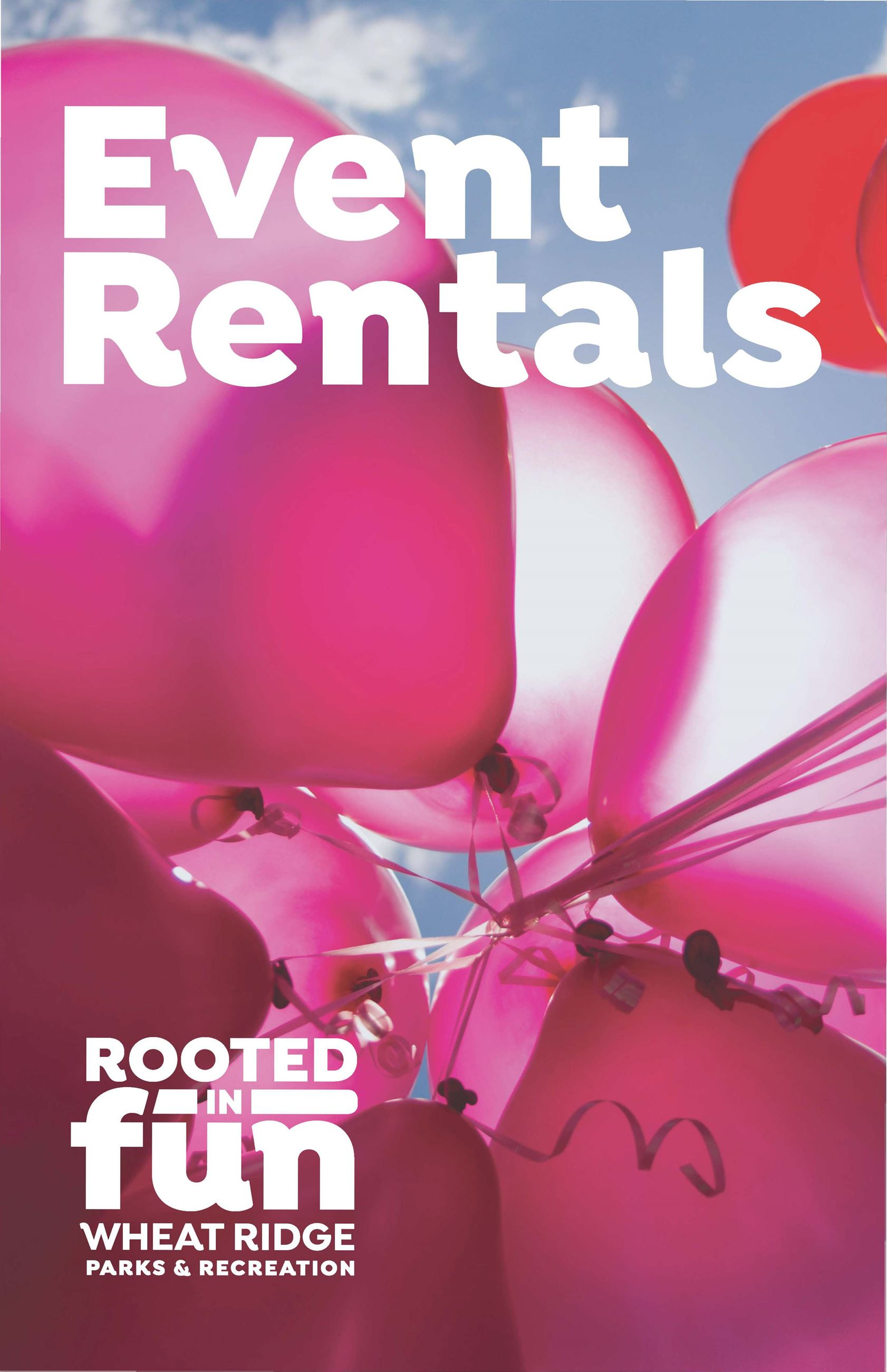Rental Brochure image of pink balloons